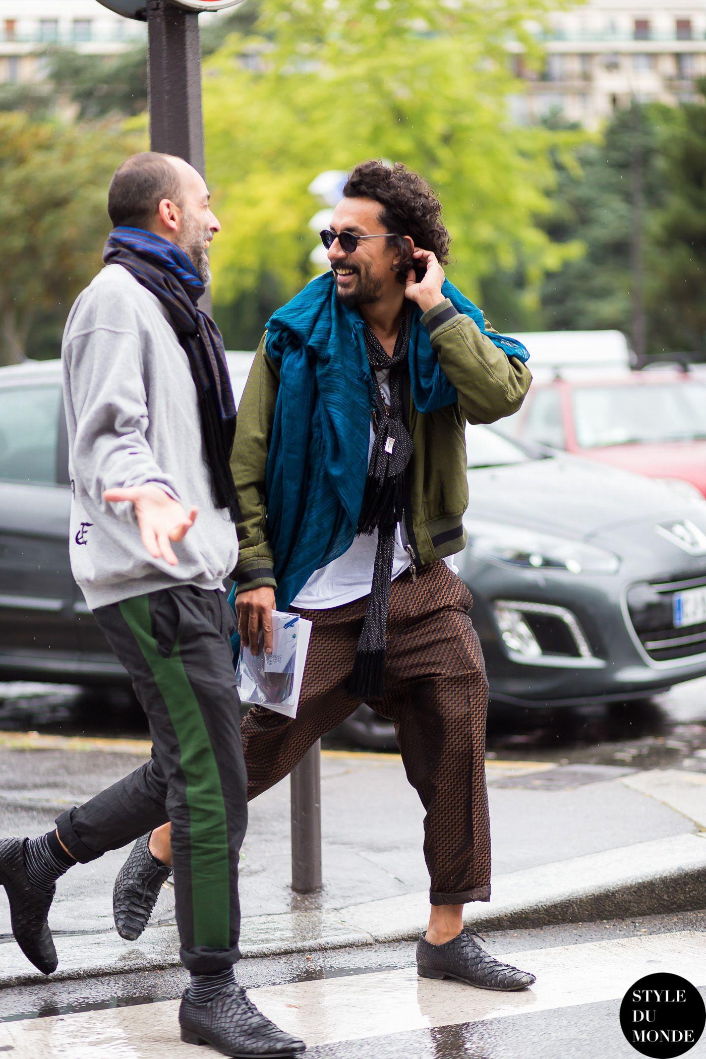 Paris Men's Fashion Week Spring 2015 Street Style: Haider Ackermann - STYLE DU MONDE   Street Style Street Fashion Photos