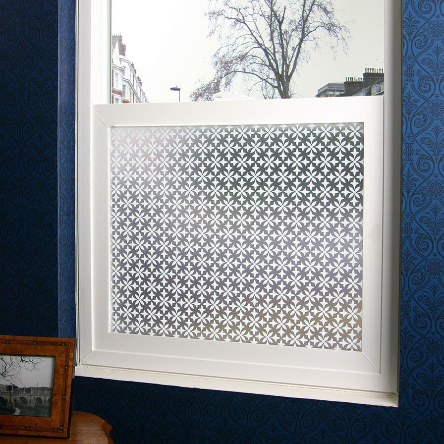Fleur Privacy Window Film Adhesive Window Treatments