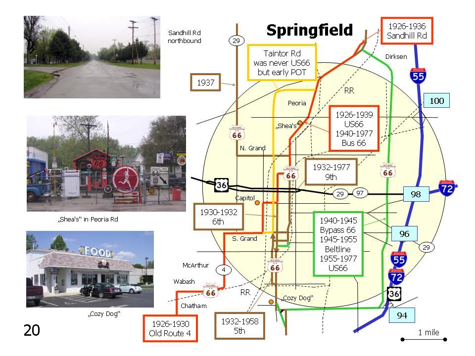 Springfield Illinois Route 66 Attractions | Route 66 | Pinterest ...