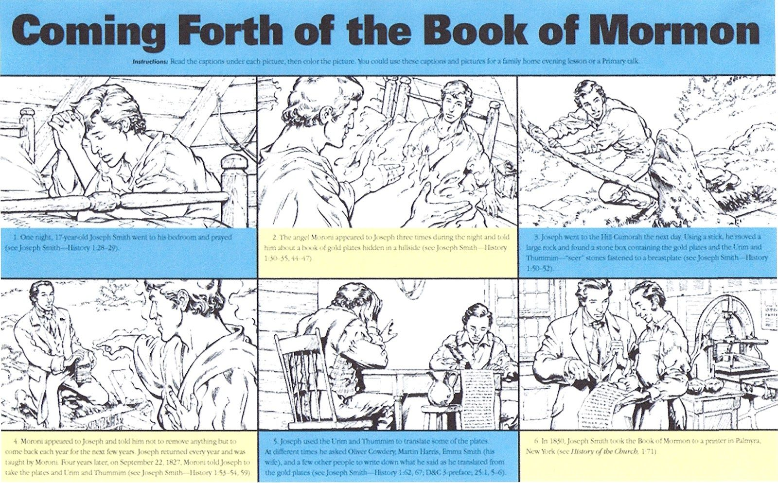 Primary 5 Lesson 6 Book Of Mormon The Book Of Mormon