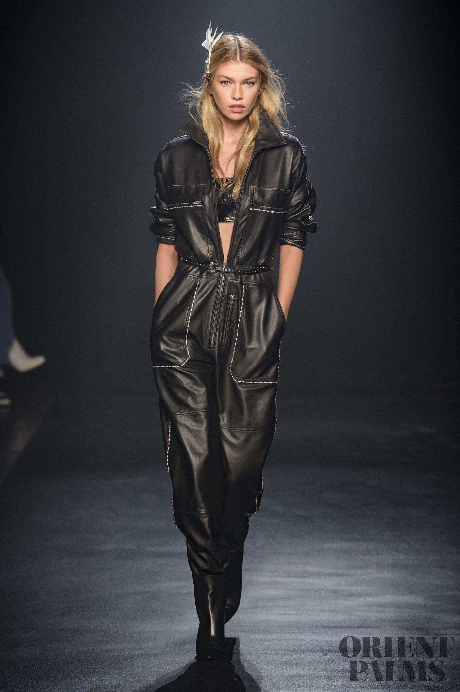 Zadig Voltaire's Fall Winter 2019 RTW Line Mixed New York Street Energy With Parisian Softness