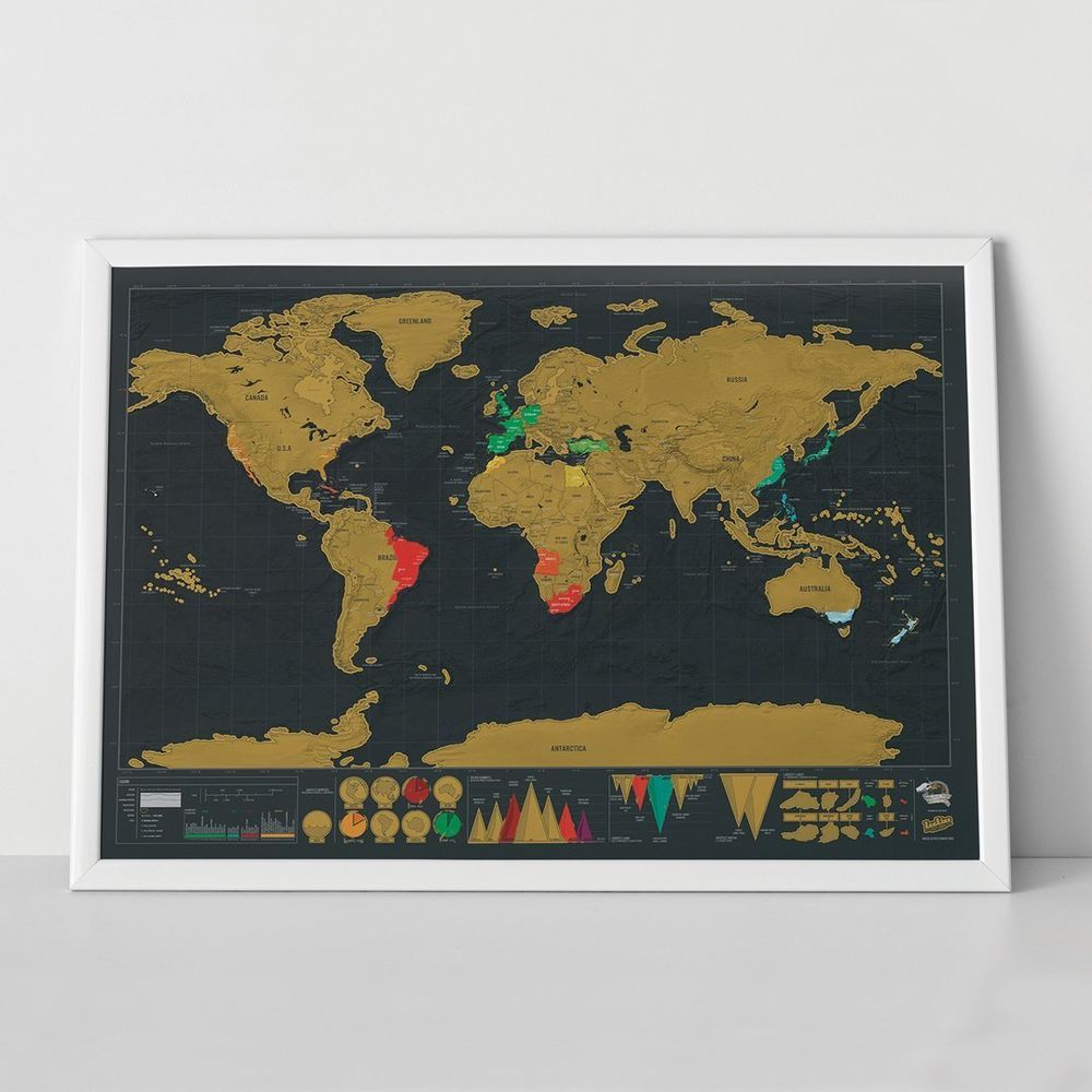 Unusual gift for him her unique christmas gifts xmas scratch map unusual gift for him her unique christmas gifts xmas scratch map world travel uk gumiabroncs Image collections