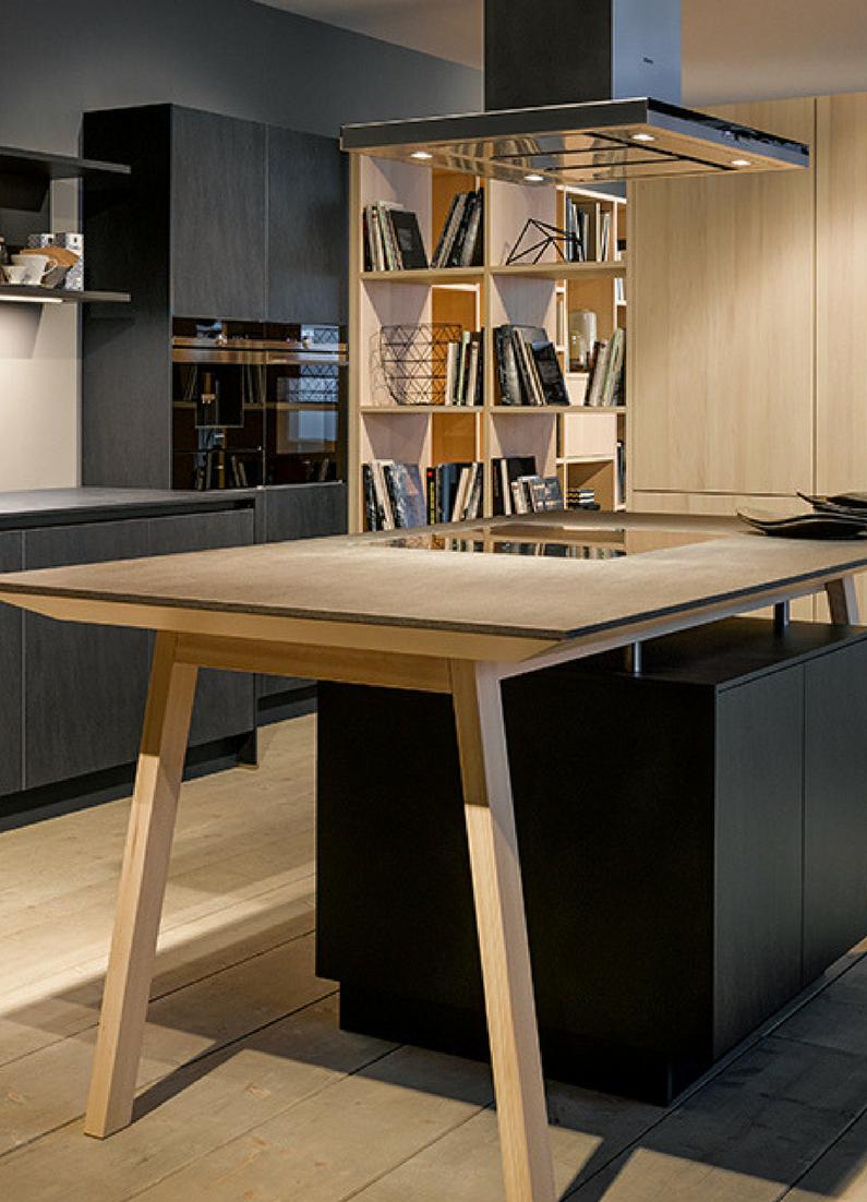 kochinsel ma e wie gro ist der ideale abstand zwischen k chenzeile und k cheninsel k che mit. Black Bedroom Furniture Sets. Home Design Ideas