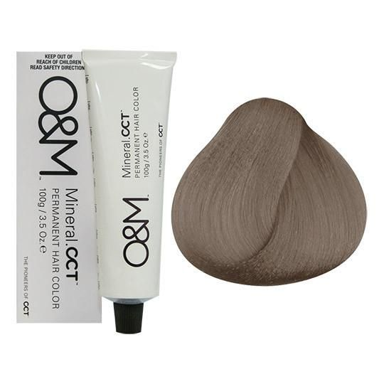 O M Mineral Cct 8 1 Light Ash Blonde 3 5oz Dark Blonde Hair Color Beige Blonde Hair Color Beige Blonde Hair