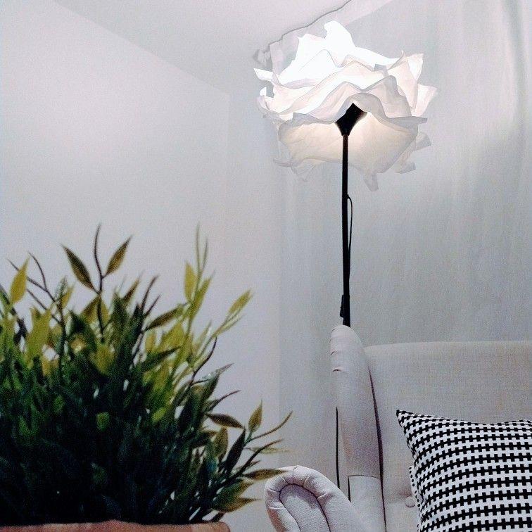 lampara de pie papel ikea