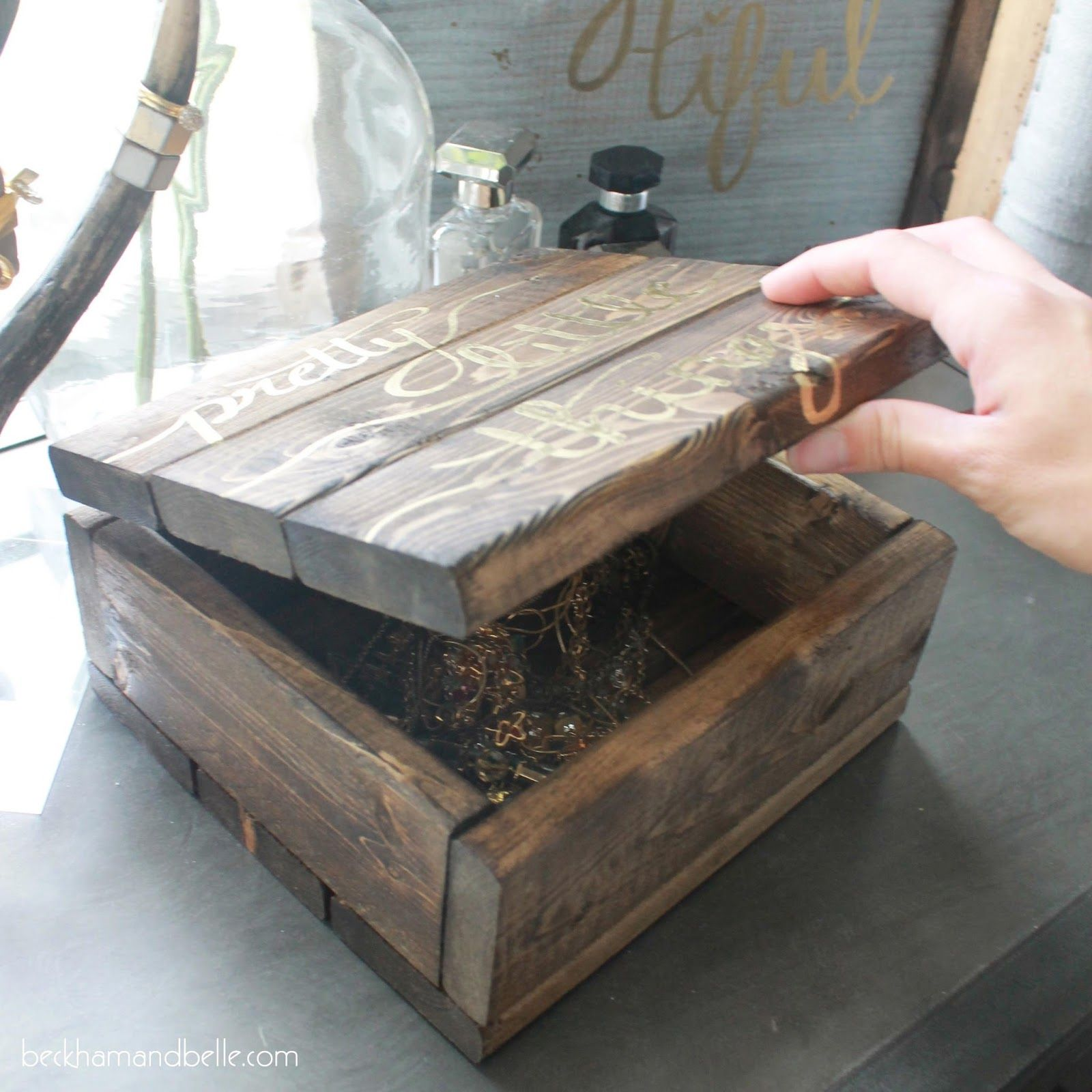 Best Wooden Jewelry Boxes: The 25+ Best Diy Wooden Jewelry Box Ideas On Pinterest