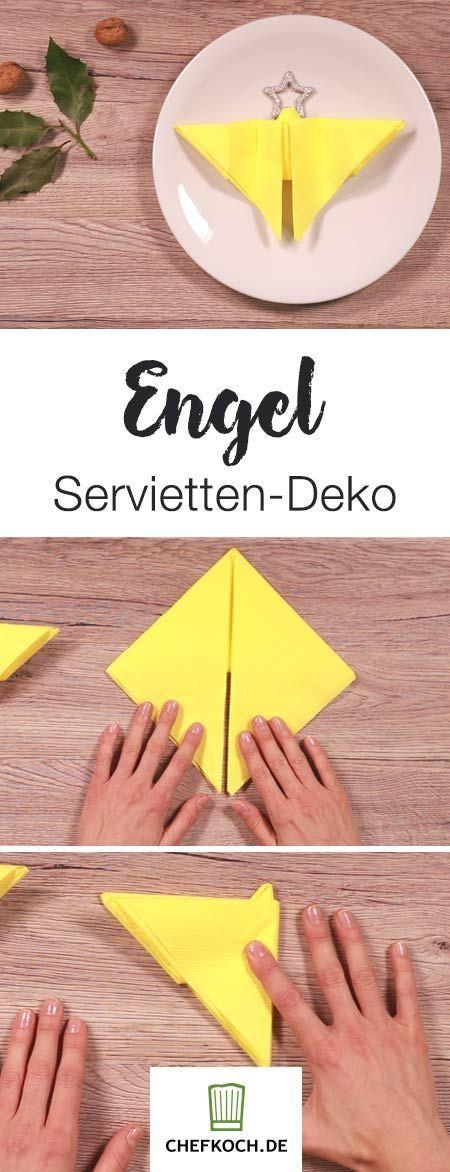 Servietten-Technik Weihnachten   Chefkoch.de