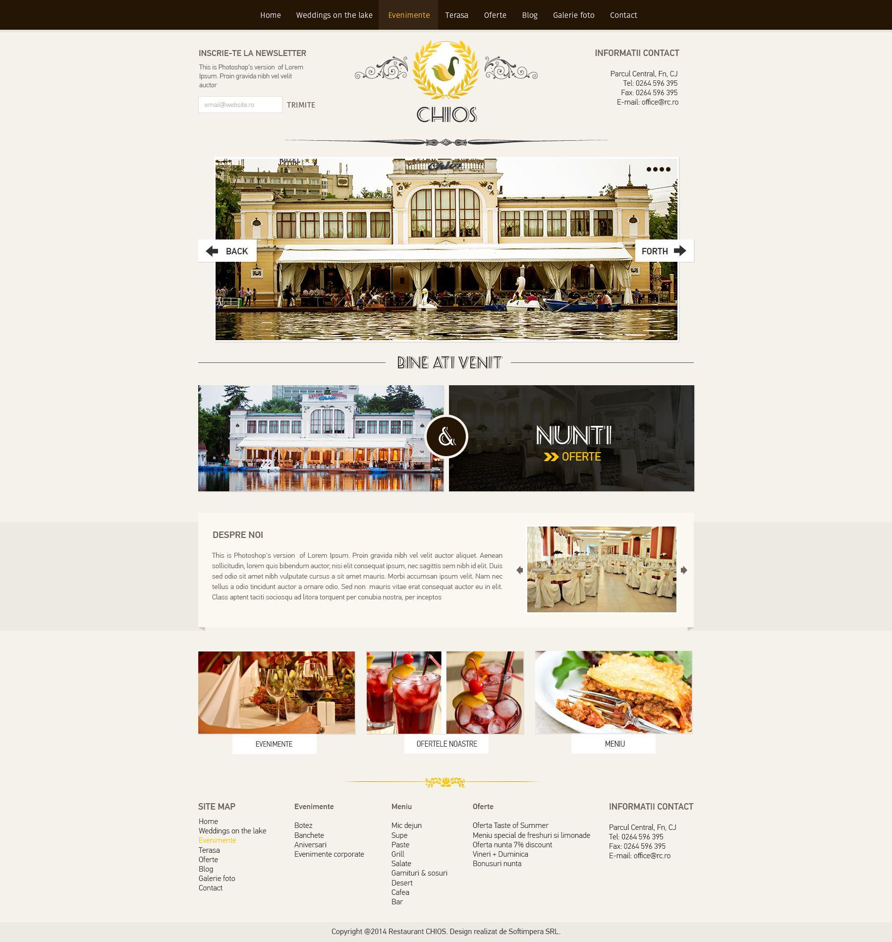 Cluj Romania Restaurant Website Design Restaurant Website Design Restaurant Website Website Design