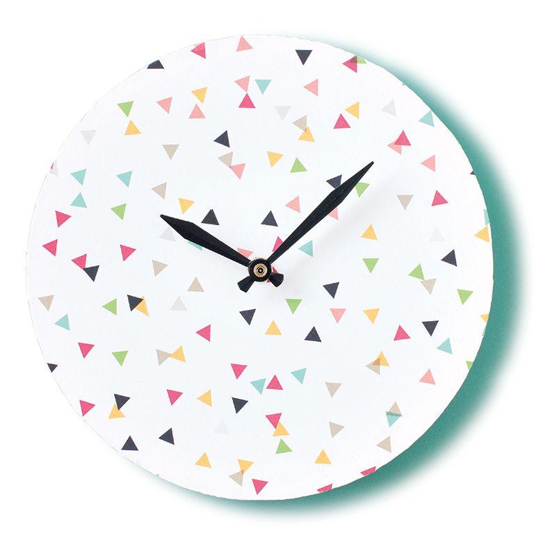 5 horloges à faire soi-même Les idées de ma maison Photo ©TVA
