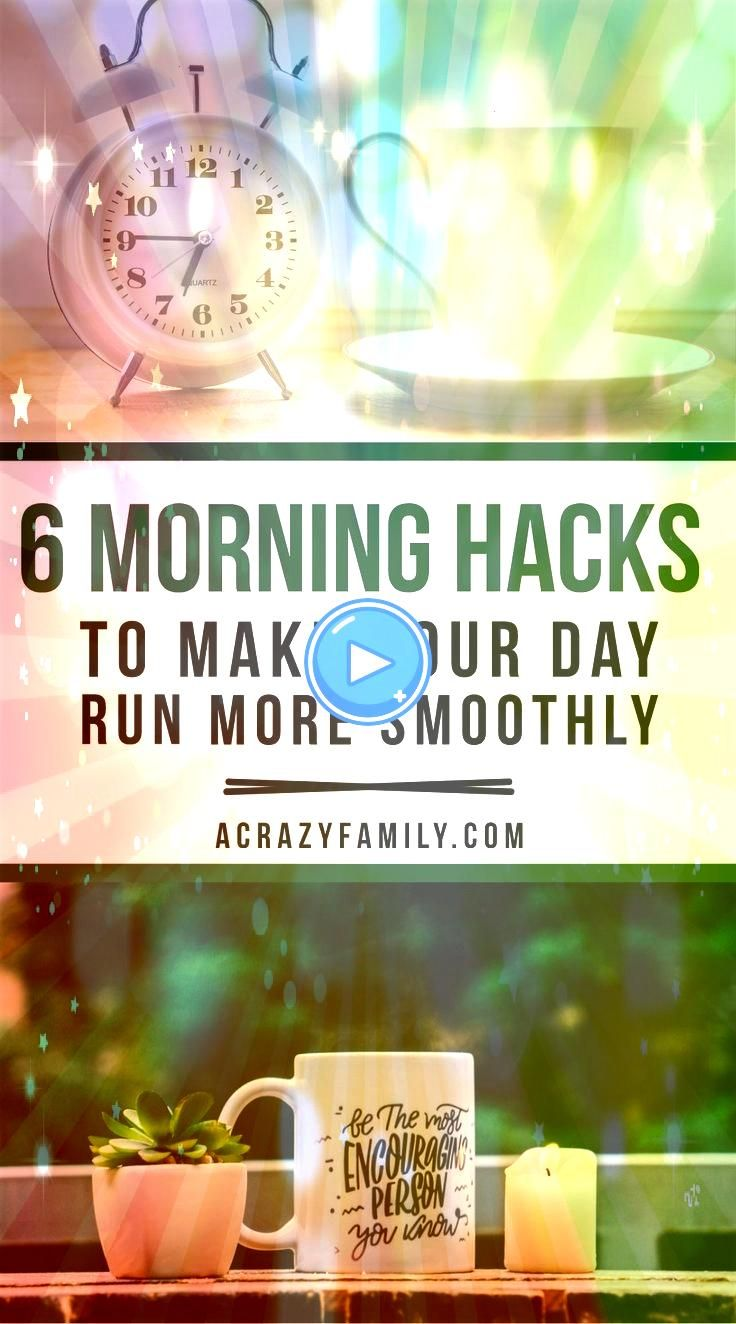 Morning Hacks to an Organized Morning Routine Make your morning a little more doable with these six simple morning hacks to improve your routineMake your morning a little...