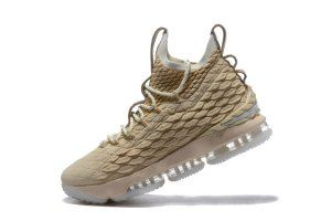 e7c71c80590 Mens Nike Lebron 15 XV Ghost String Sail Vachetta Tan LIMITED 897648 001  Basketball Shoes
