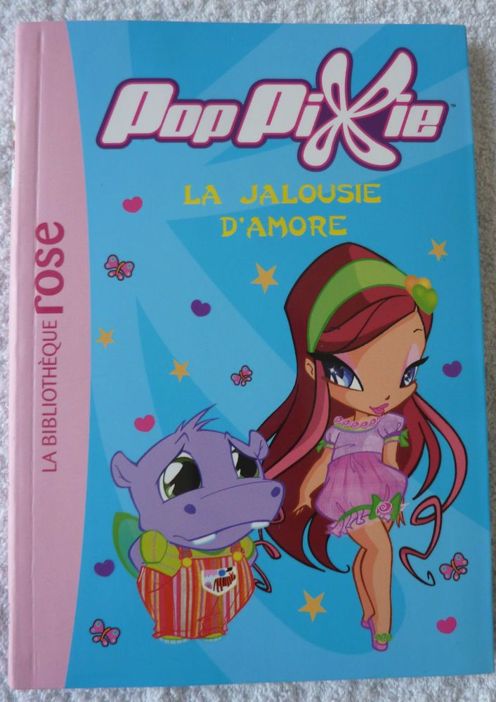 Bibliotheque Rose Poppixie N 5 La Jalousie D Amore Livre