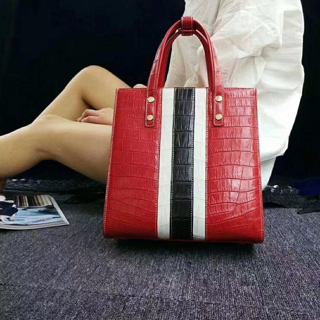 Elegant Alligator Handbags Shoulder Bag Tote Bag   Väskor