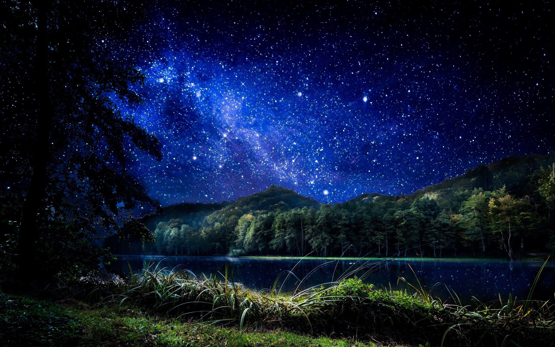 красивые фото ночного неба