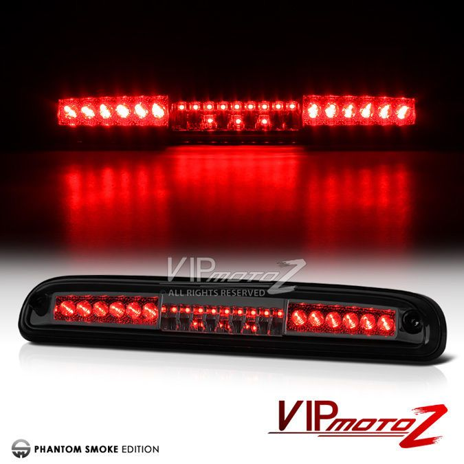 Details About 1999 2016 Ford F250 F350 F450 Smoke Led Smd Rear Third Brake Tail Lights Lamps