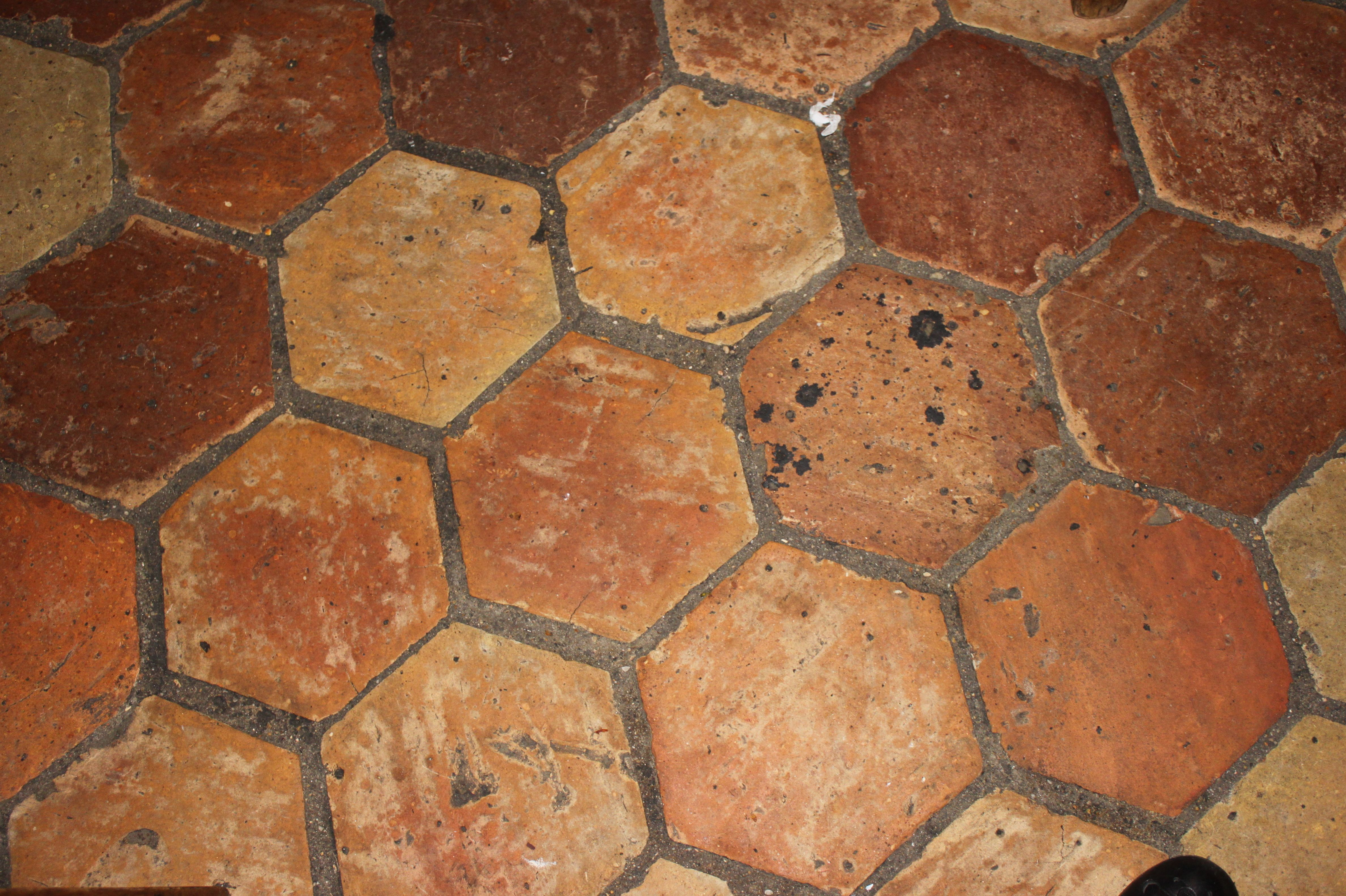 Honeycomb terracotta floor tile google search french farmhouse honeycomb terracotta floor tile google search dailygadgetfo Choice Image