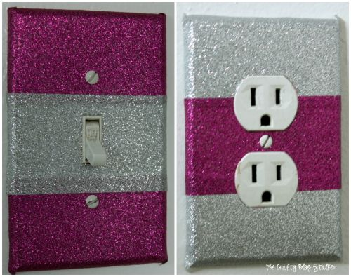 How To Make Duck Tape Light Switch Covers The Crafty Blog Stalker Light Switch Covers Light Switch Covers Diy Decorative Light Switch Covers