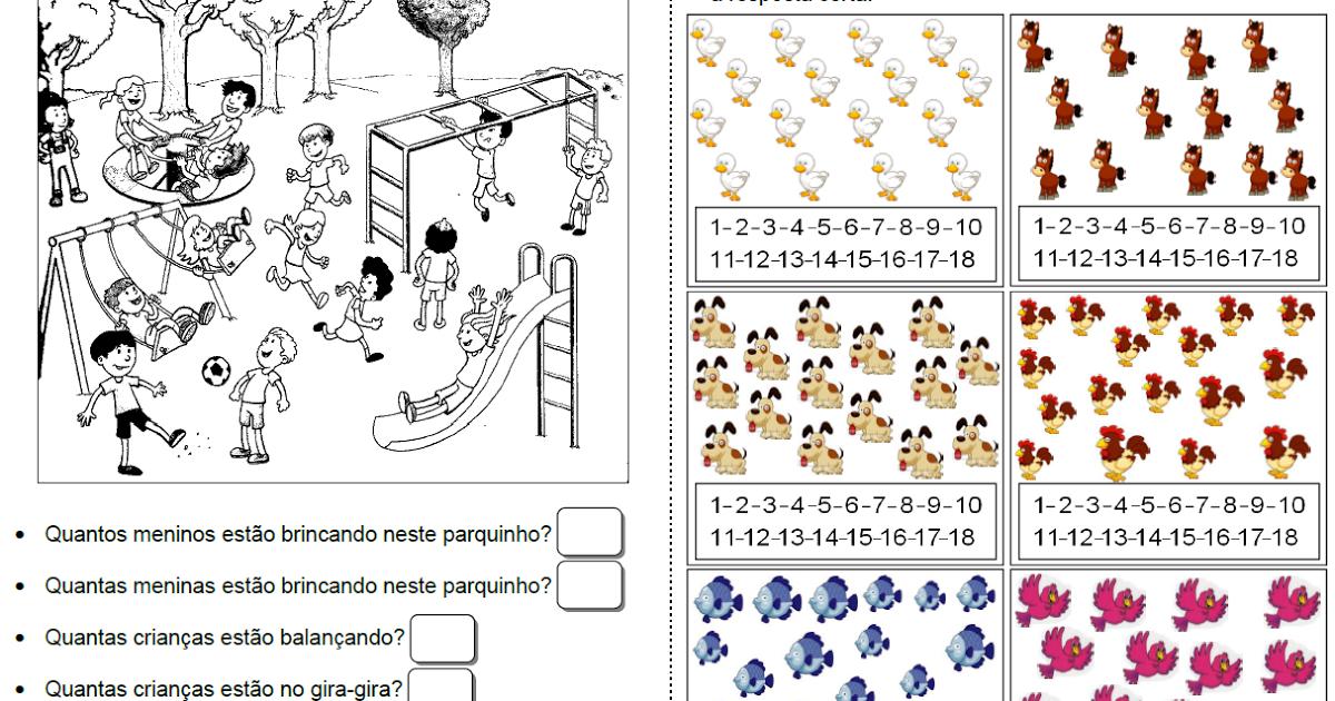 Pin em Atividades de matemática pré-escolar