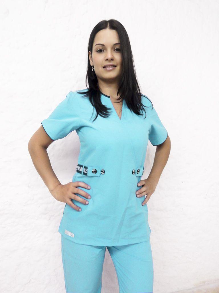 Conjunto de chaqueta y pantalon para doctores buscar con - Uniformes sanitarios modernos ...