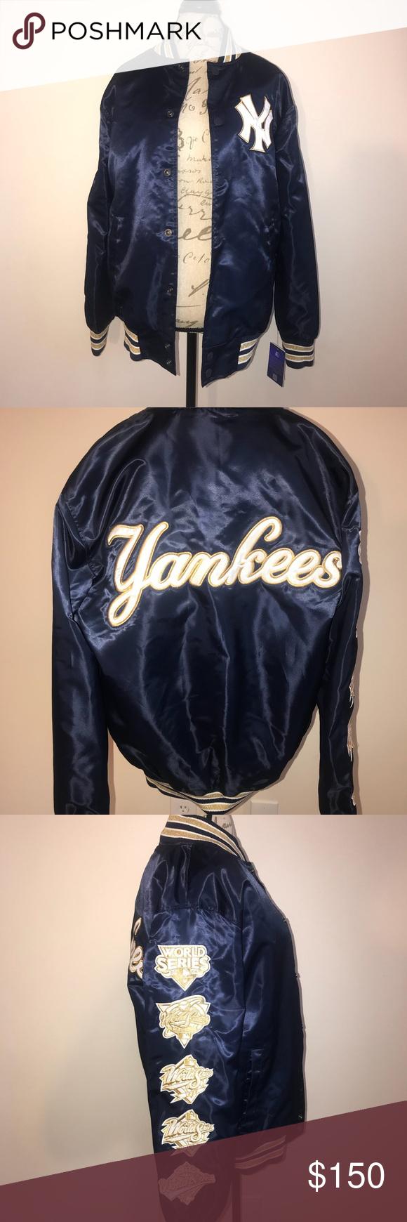 Ny Yankees Starter Jacket New Jackets Fashion Clothes Design [ 1740 x 580 Pixel ]
