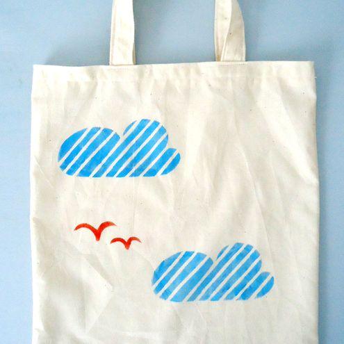 Clouds Tote Bag £10.00