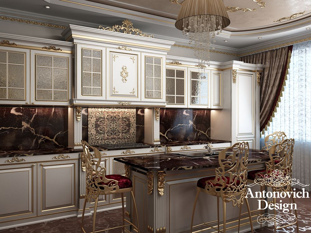 Http antonovich the interior of a soft for Kitchen design qatar