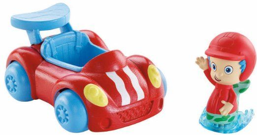 Amazon.com: Fisher-Price Nickelodeon Bubble Guppies: Gil & Red Racer: Toys & Games