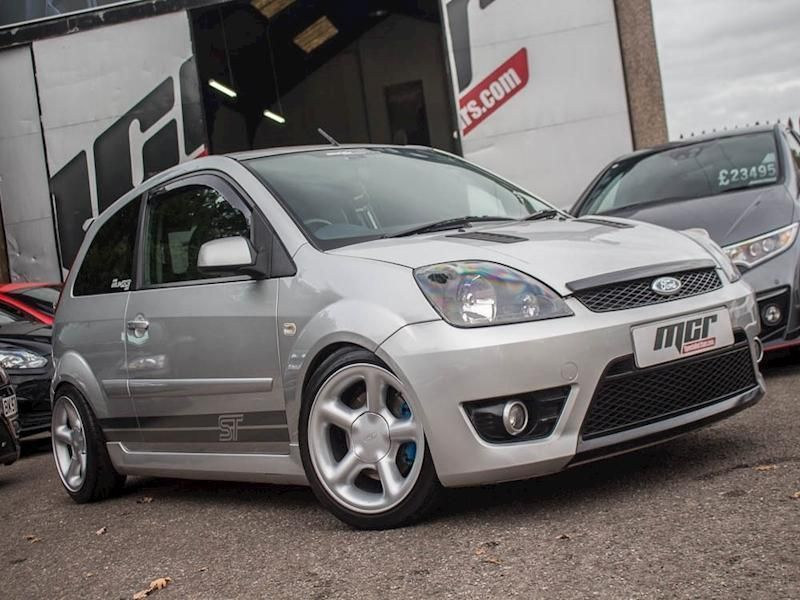 Ford Fiesta St 07 Reg 78k Silver Modified Cosworth Alloys In