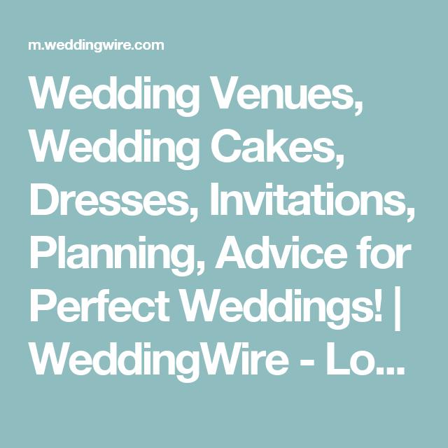 Wedding Venues, Wedding Cakes, Dresses, Invitations, Planning ...