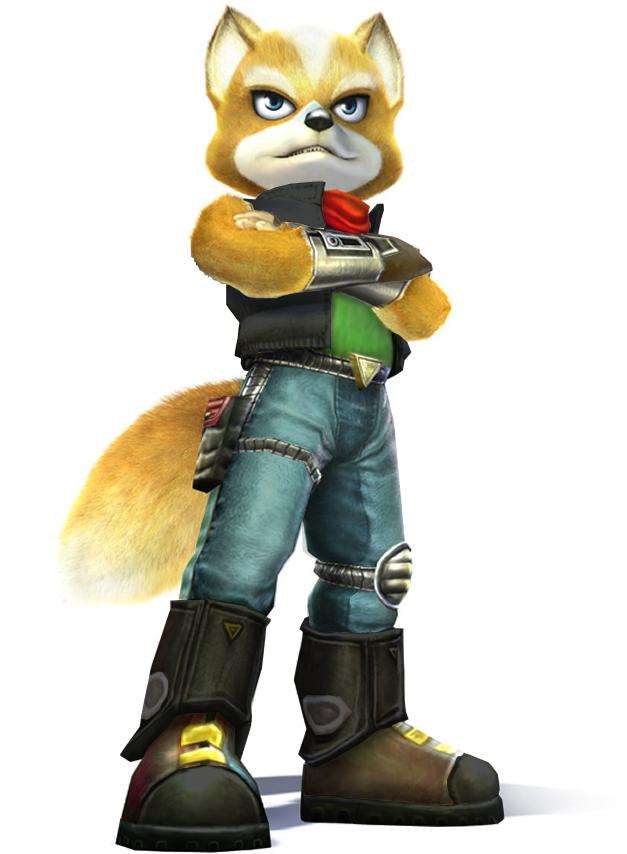 Fox Mccloud Off Duty Fox Mccloud Star Fox Mccloud