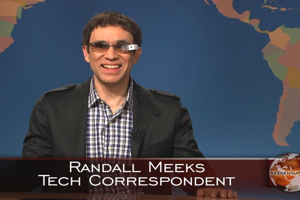 Saturday Night Live (05/04/13): Weekend Update: Randall Meeks - Fred Armisen demonstrates Google Glass