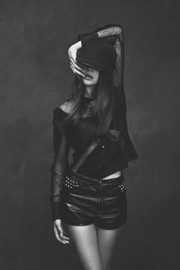 Back to black 03 Quentin Legallo – Provocative Black And White Photo