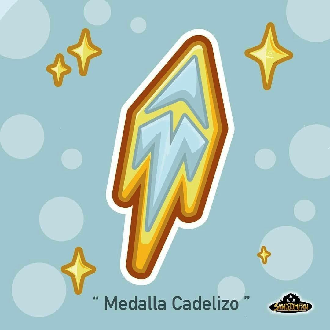Medal ☆. . . . . . . . . -☆ Cadelizo Medal ☆. . . . . . . . . - ☆ Medalla Cadelizo ☆ . .