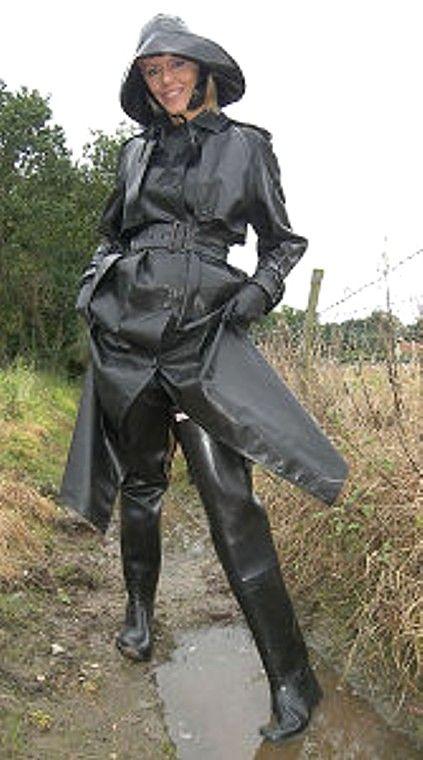 Rubber Rainwear Fetish