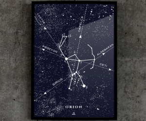 Konstelacja №801 — Orion