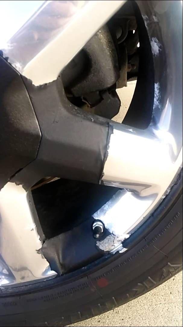 Dip Rims In Chrome >> Do Not Plasti Dip Plasti Dip Damage To Chrome Rims