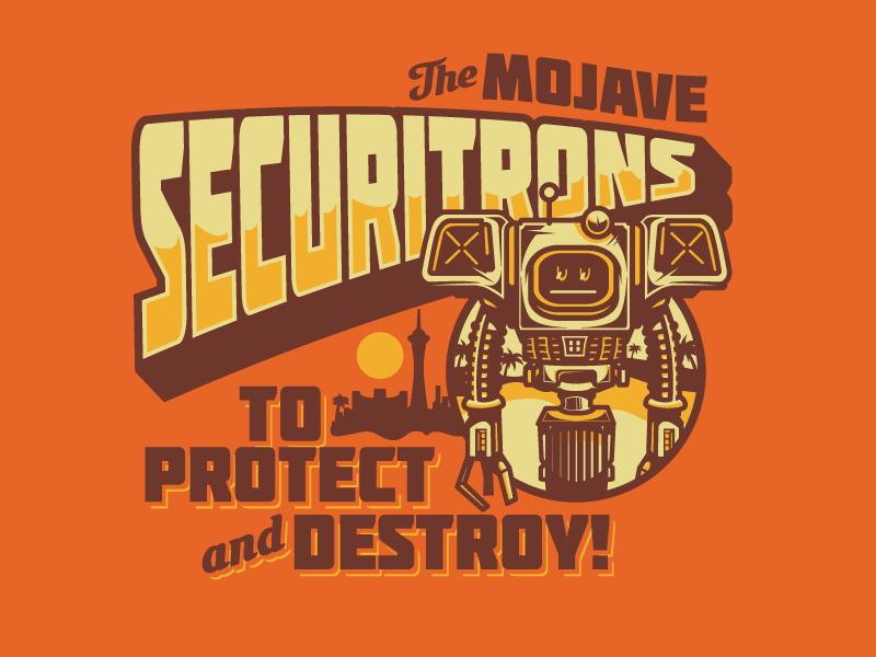 Securitrons Fallout New Vegas Fallout New Vegas Fallout Fallout Lore