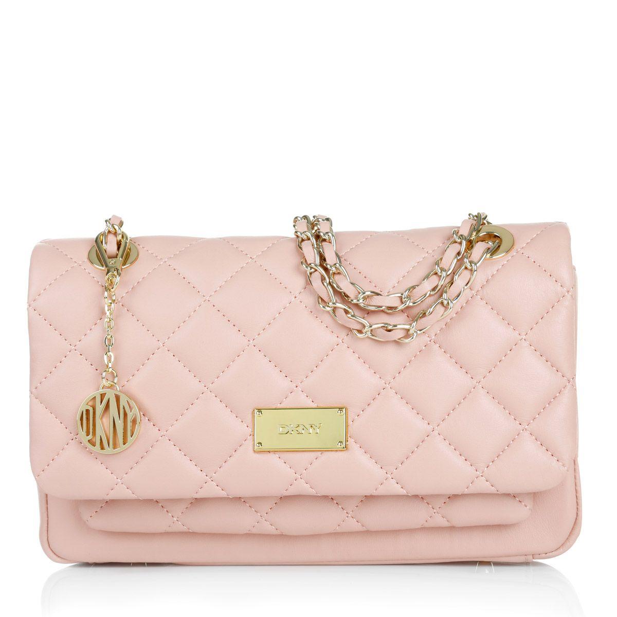 Gansevoort Quilted Nappa Crossbody Bag Pink