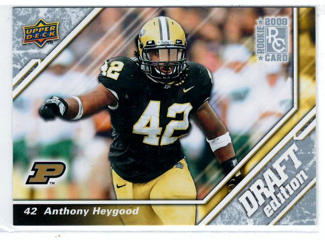 Sports Cards 2009 UD Draft Edition RC Anthony Heygood