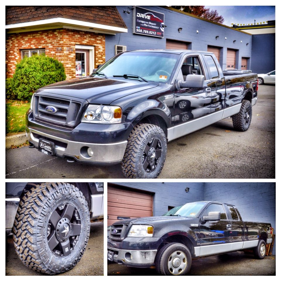 2006 ford f150 4x4 with the rare 7 lug extra payload package came here from our