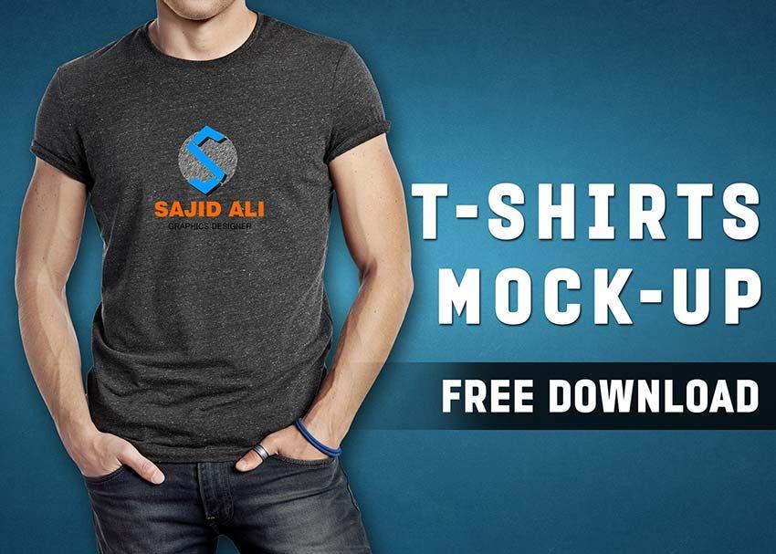 Download T Shirt Mockup Shirt Mockup Tshirt Mockup Male T Shirt