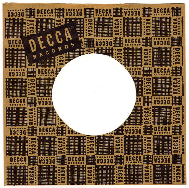 1950s Decca Records 45 Rpm Record Sleeve Record Sleeves Vinyl Records Covers Vinyl Record Sleeves
