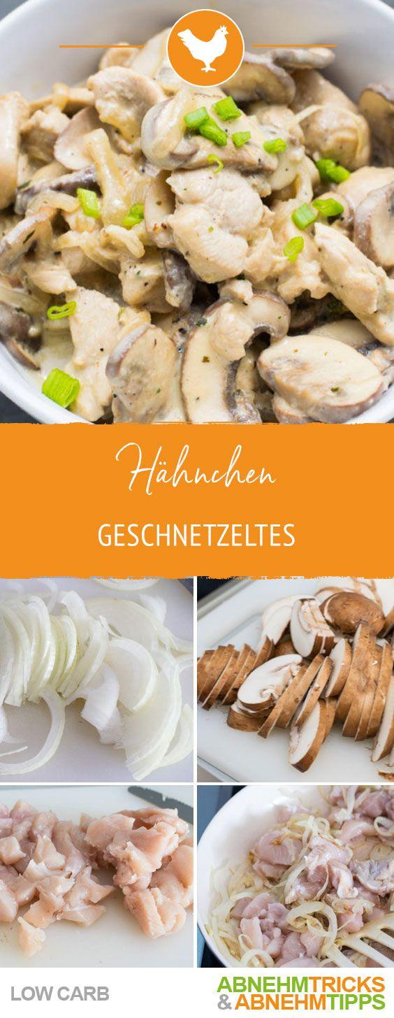 Photo of Low Carb Hähnchen-Geschnetzeltes – lecker & sättigend