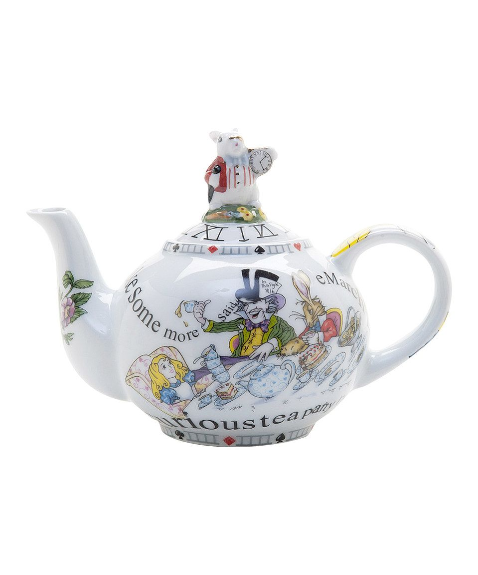Another Great Find On Zulily Alice In Wonderland 48 Oz Teapot By