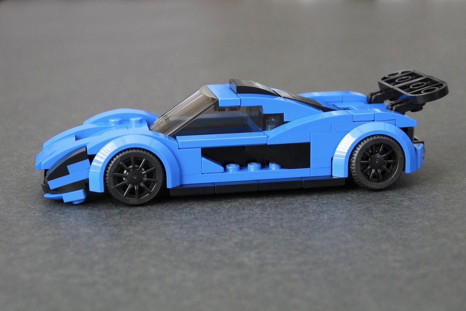mclaren p1 (city scale) | lego moc | lego, lego creations, lego city