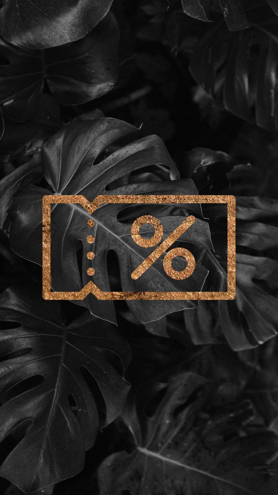 Tropical black and rose gold ecommerce instagram stories highlights coupon code instagram stories highlights cover ecommerce and business insta story icons gold foil fandeluxe Image collections