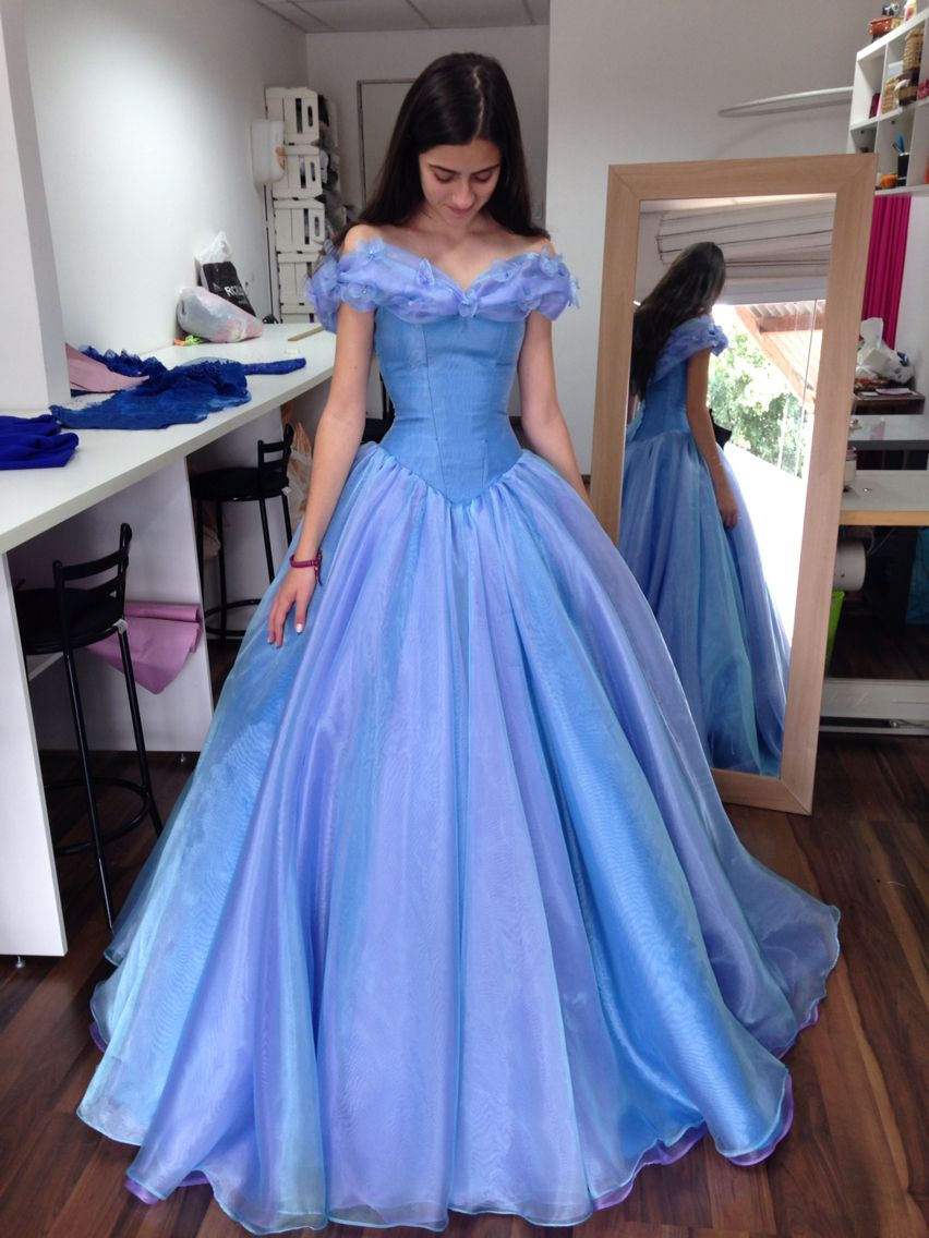 Vestido inspirado na Nova Cinderela  Kleider, Abschlussball