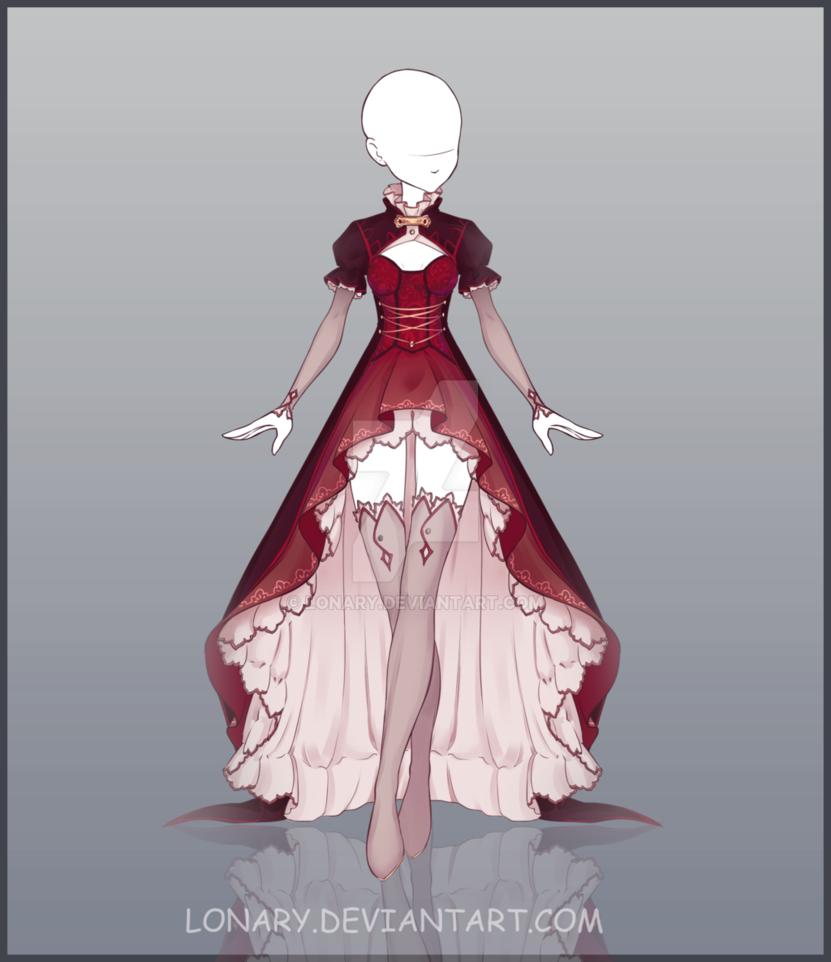 Resultado de imagen para vestidos de anime 디자이ㄴ pinterest