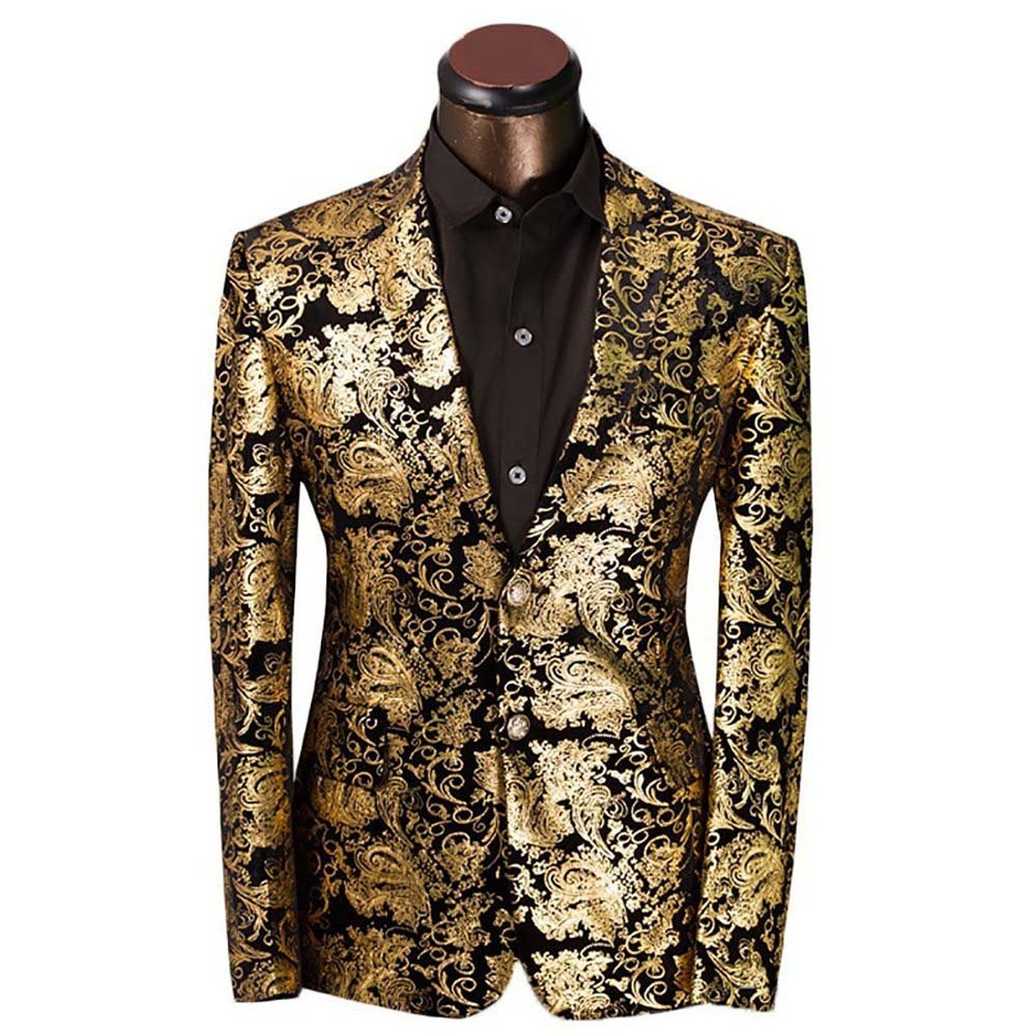 Cloudstyle Gold/Black Blazer | Fashion | Pinterest | Blazers, For ...