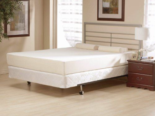 8 inch flipable double sided memory foam u0026 high density foam mattress size twin